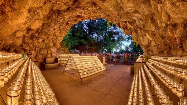 The Grotto of Our Lady of Lourdes