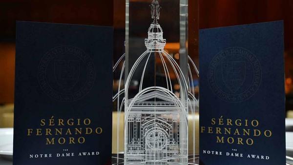 The Notre Dame Award: Brazilian judge Sergio Moro