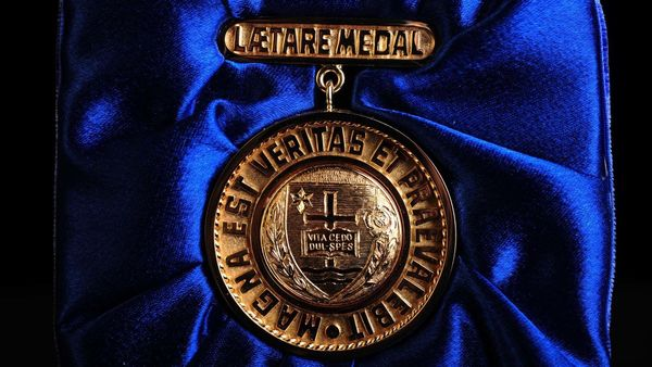 Conferral of the 2020 Laetare Medal